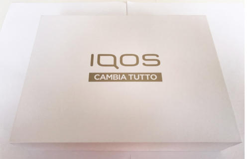 video box philip morris italia