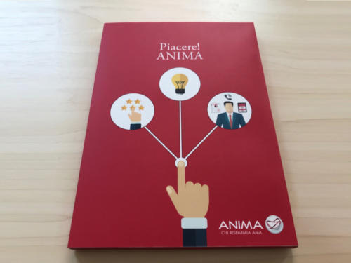 video book anima 5 pollici ips